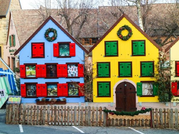 Casas de Adviento en Alsacia
