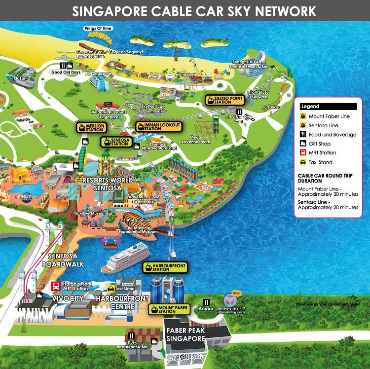 Cable Car Sky Network Map