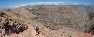 Panorama mit Aurure und Valle-Gran-Rey