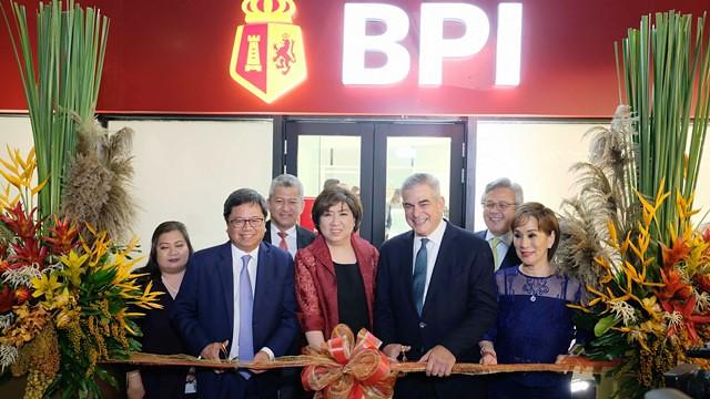 BPI Makati Main Branch Ribbon cutting