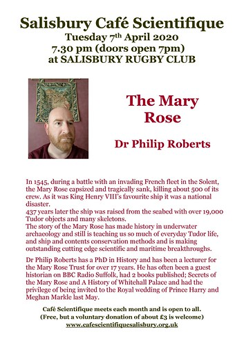 Poster for Dr Philip Roberts
