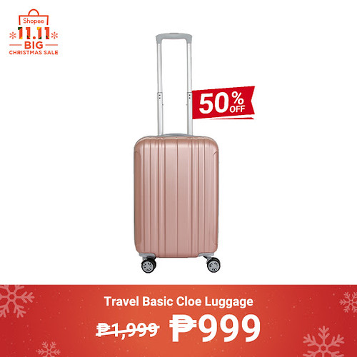 Shopee 11.11 Big Christmas Sale Travel Basic Cloe Luggage