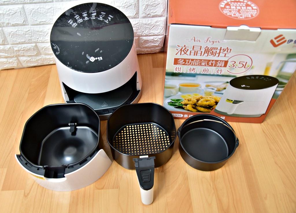 【氣炸鍋分享】EL 伊德爾-3.5L 液晶觸控氣炸鍋 ~ 烘烤煎炸一機多用。操作方便、輕鬆上手、少油煙多健康。讓 ...