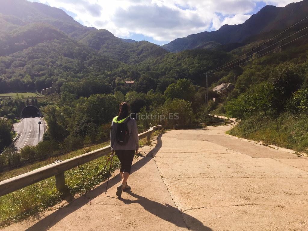 Cómo llegar al Salt del Roure - Rutas de senderismo por la Garrotxa