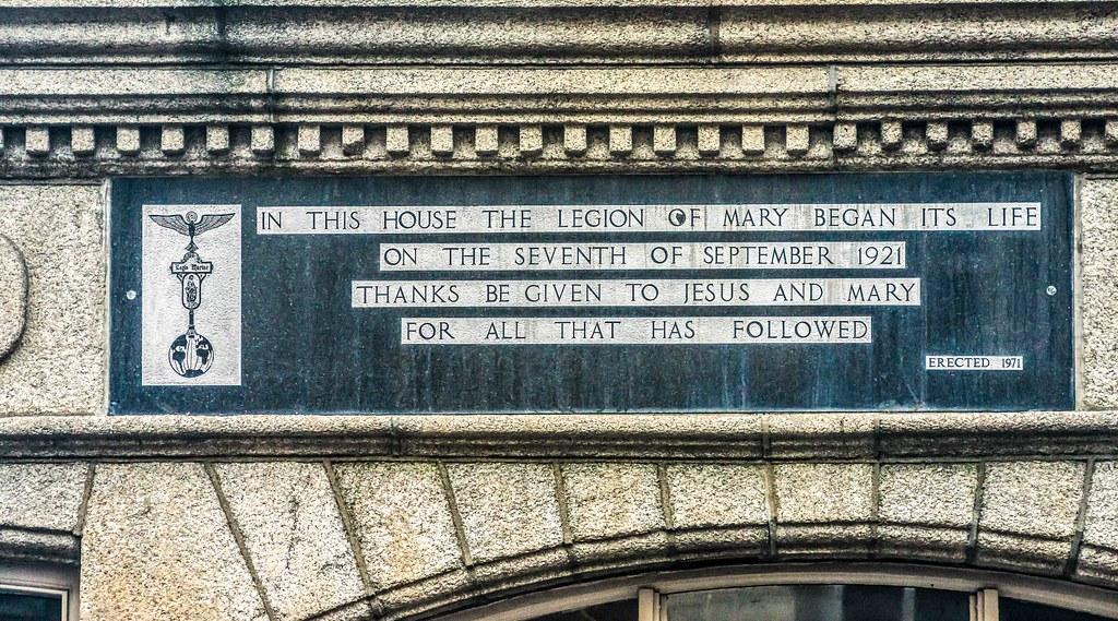 THE LEGION OF MARY [MYRA HOUSE ON FRANCIS STREET]-157961