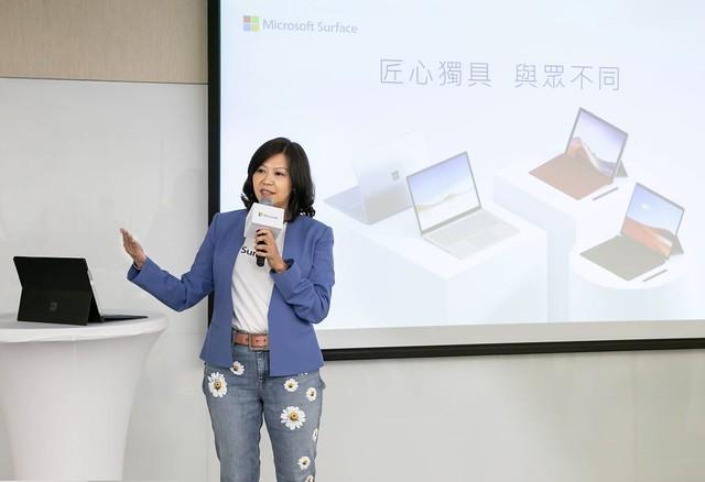 台灣微軟首席營運長何虹