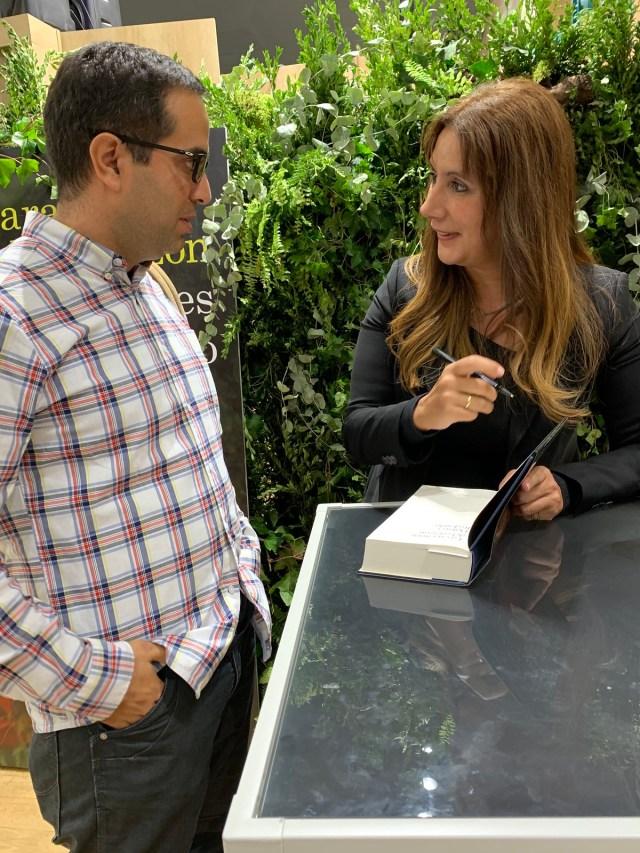 Nacho Correa con Dolores Redondo