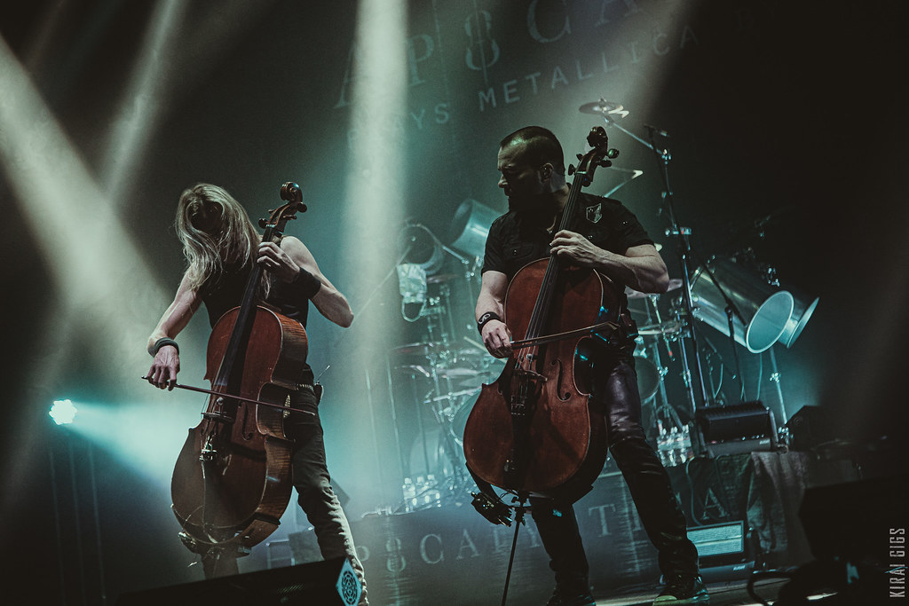 Apocalyptica - Live at October Palace, Kyiv [05.11.2019]