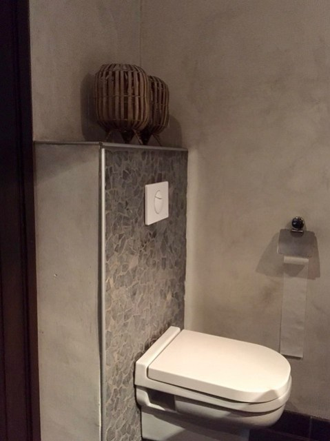 Toilet landelijk sober ingericht