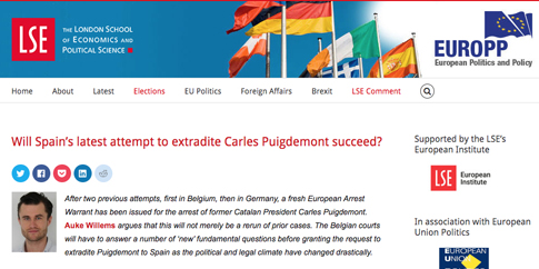 19j23 Will Spain's latest attempt to extradite Carles Puigdemont succeed?