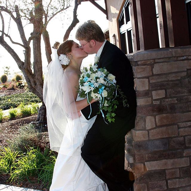 Today is nine years of marriage and fifteen years of doing life with my best friend. I can't imagine it any other way. ❤️