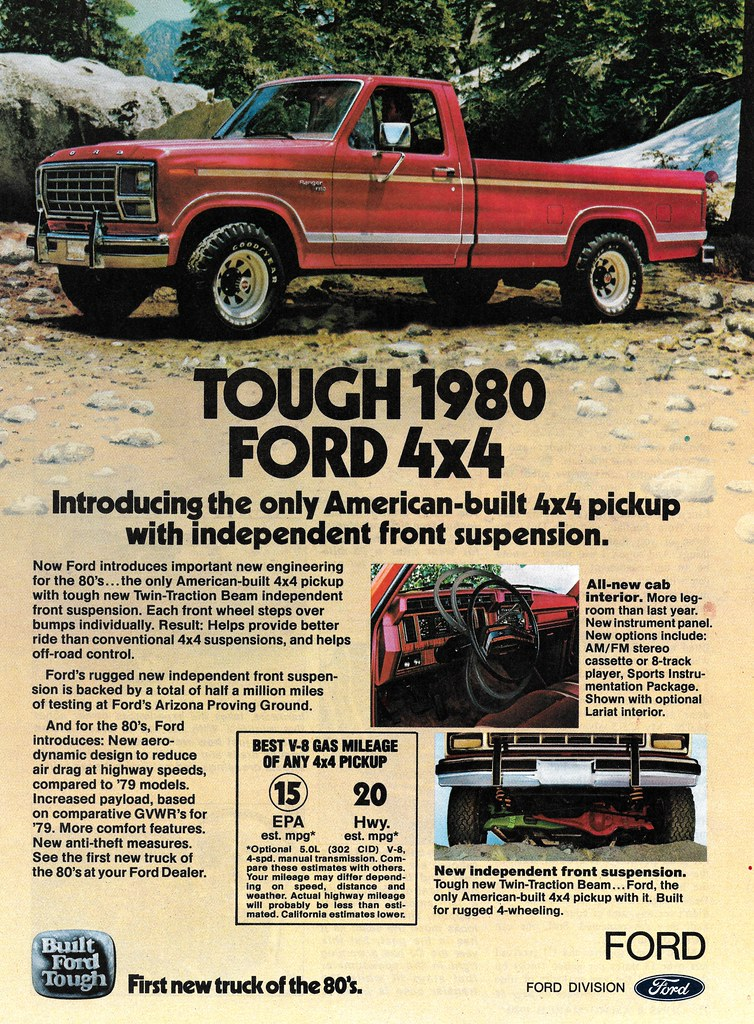 1980 Ford F150 4x4 : F-150, Ranger, (USA), Prior, 1980,, Ford's, Uni…, Flickr