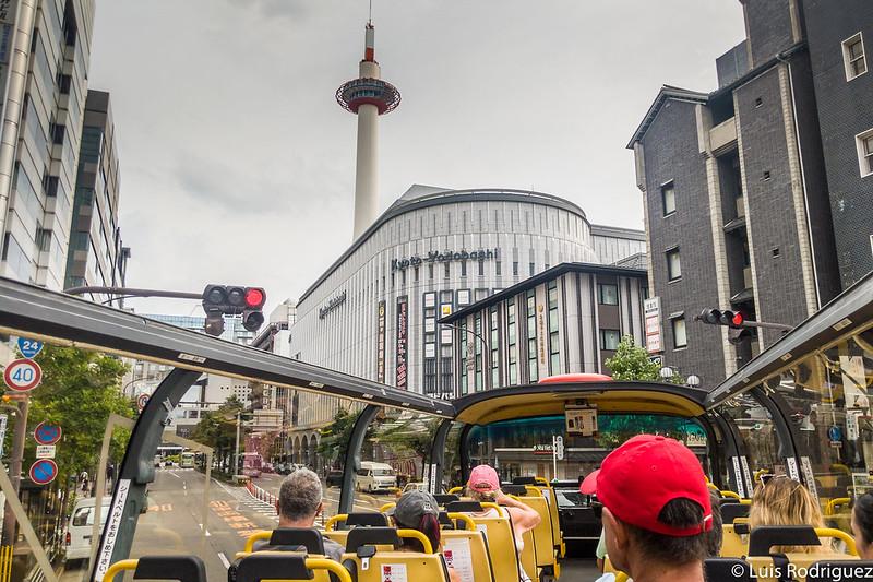 Tour de Kyoto depuis le bus SkyHop