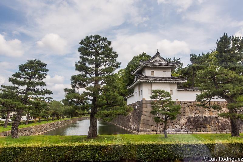 Extérieur du château de Nijō