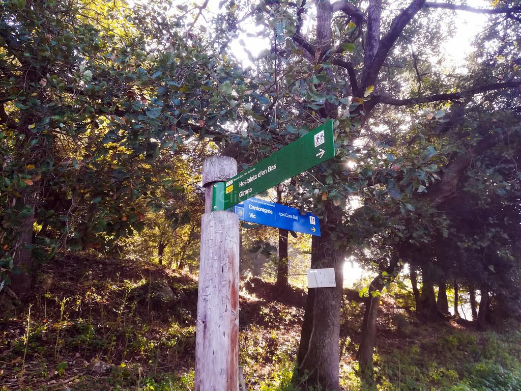 Cómo llegar als Gorgs del Torrent del Puig por el Camí Ral · Turisme de la Garrotxa