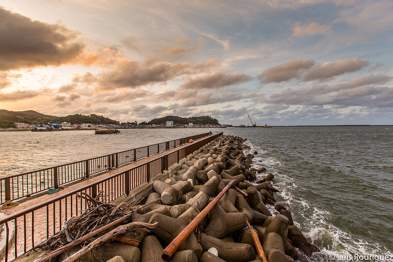 Front de mer de Wajima