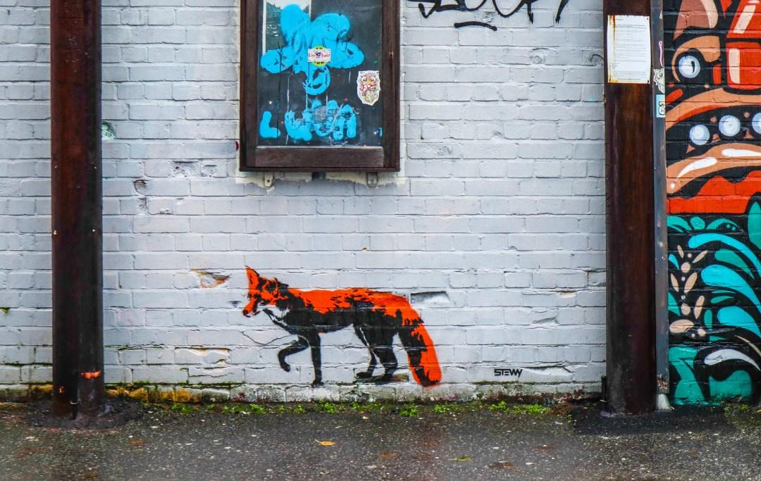 Street art a Bristol