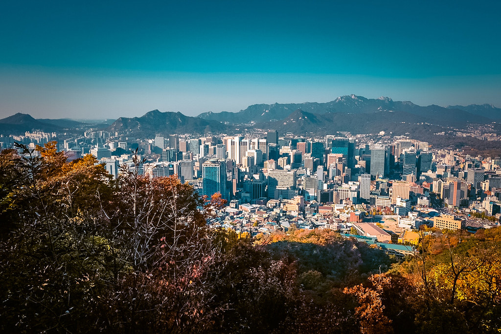 View of Seoul from Namsan Tower | 3 Days in Seoul Itinerary