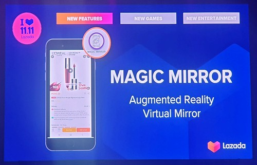 Lazada Magic Mirror