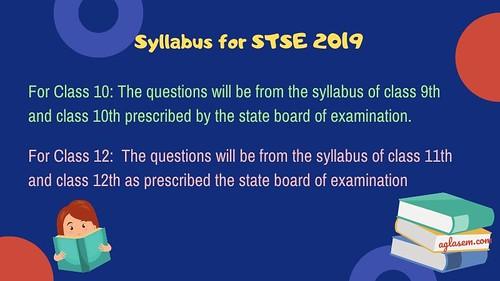 STSE Rajasthan 2019