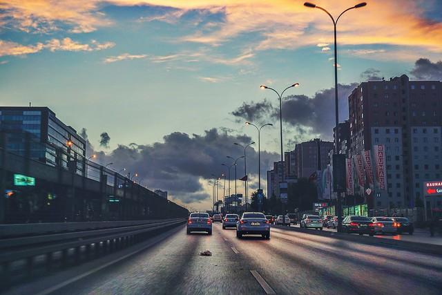 City driving