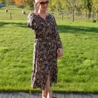 Outfit of the week: How to style a bohemian dress (part I)