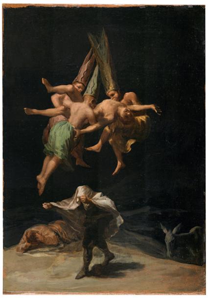Vuelo de brujas Uti 425