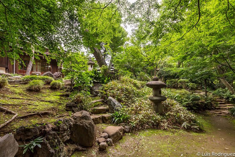 Jardin de l'ancienne résidence d'Asakura