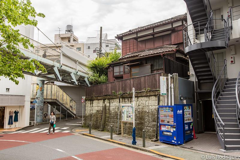 Maisons traditionnelles en plein Daikanyama