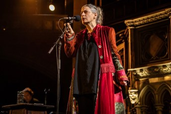June Tabor and Oysterband at Union Chapel in London, UK, 11/14/2019