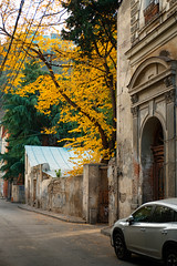 Autumn in old Tbilisi