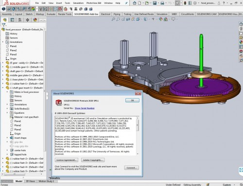 Working with SolidWorks 2020 SP0.1 full license
