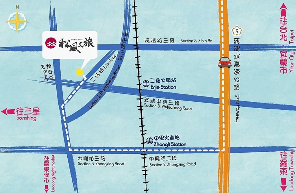 So Fun Hotel Map 1