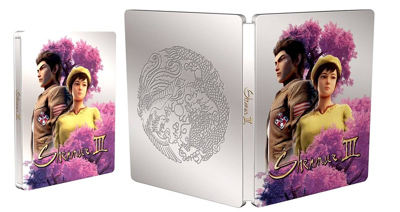 Shenmue 3-Scanavo Steelbook Open