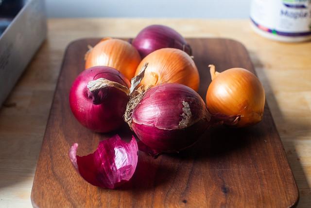 lots of onions
