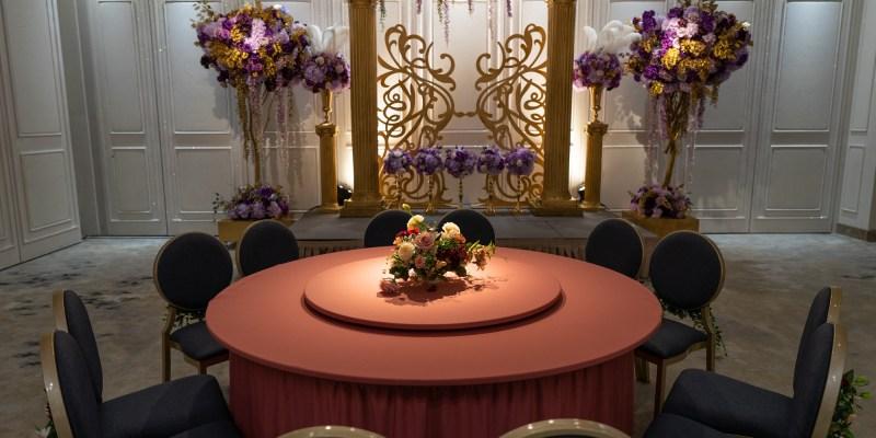 新北婚宴會館推薦 豪鼎飯店:絕美色系婚宴廳,一週僅開放一場乾燥玫瑰粉、莫蘭迪藍灰,走進婚宴場地如同走進一件仙氣禮服內@婚宴會館.婚宴場地.新北婚宴會館