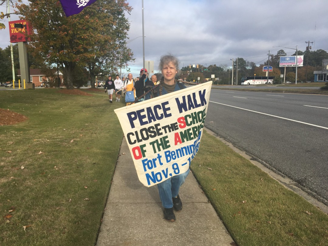 11-15 to 11-17-19 PCUSA at the SOA Protest