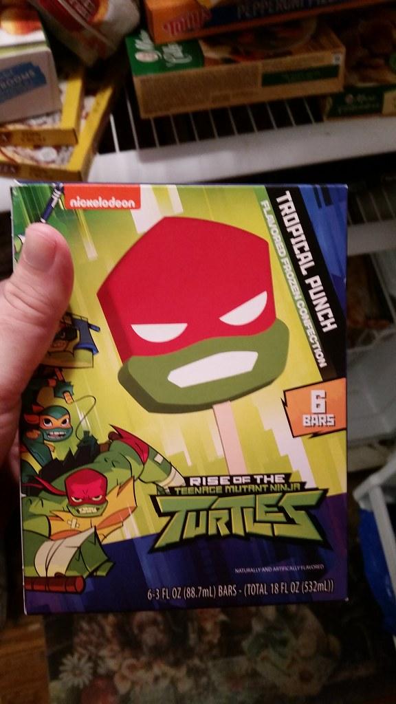 Ice Cream Kitty Mutation - Teenage Mutant Ninja Turtles