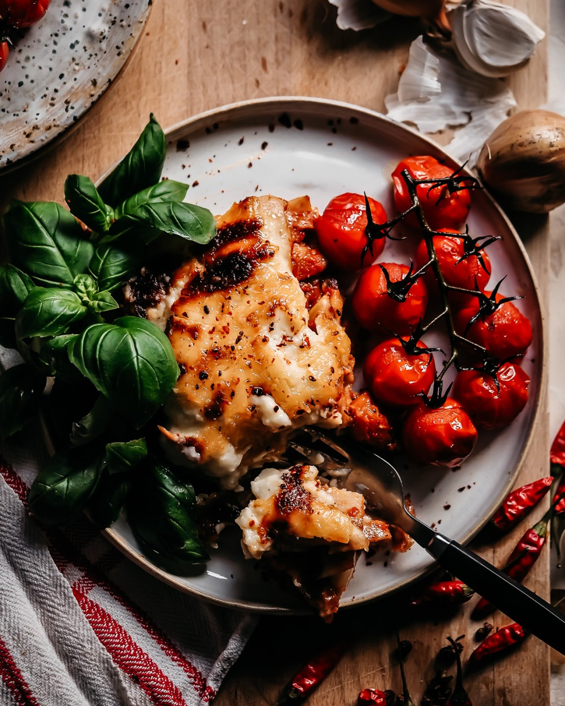seitan lasagne