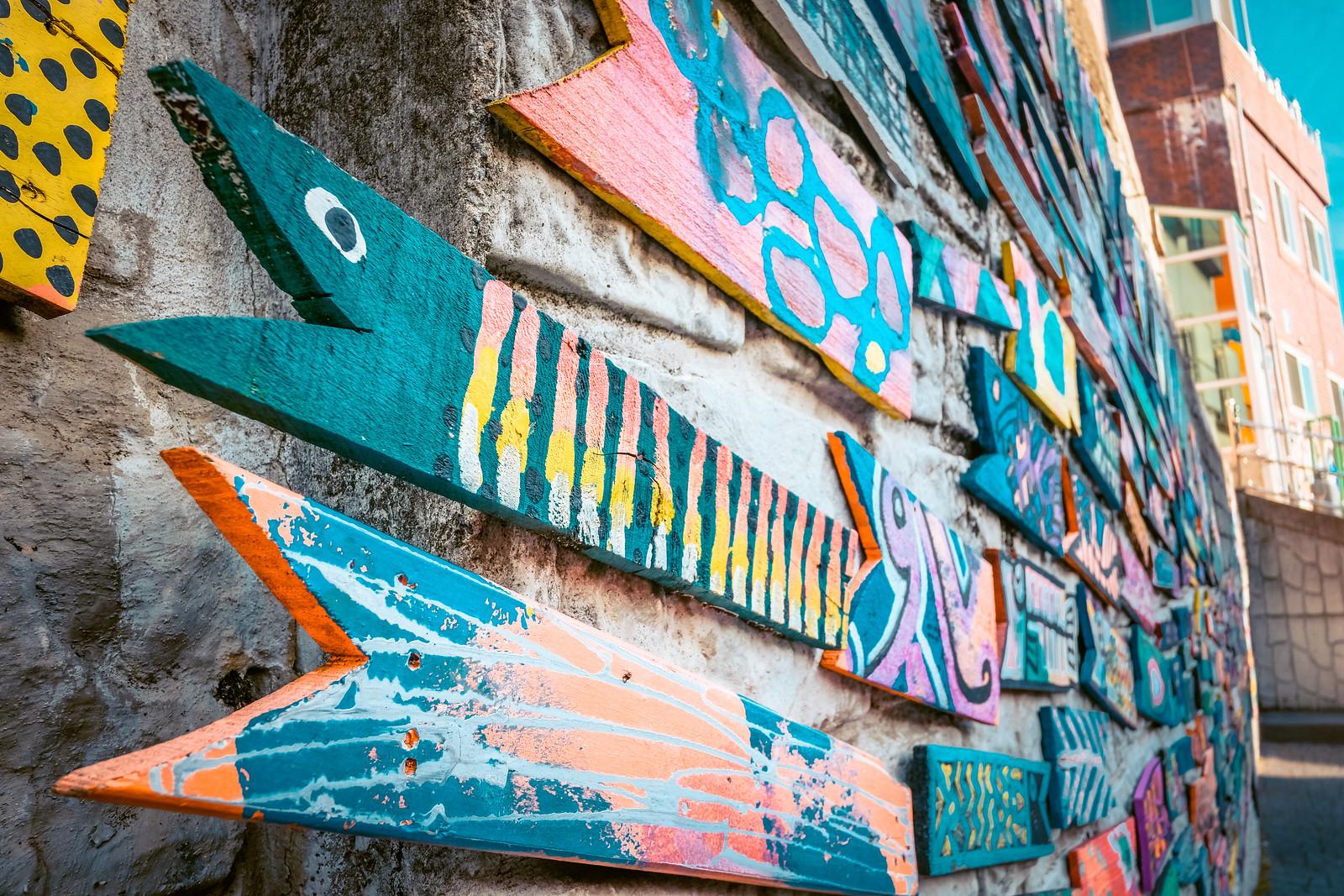 Street Art in Gamcheon Culture Village