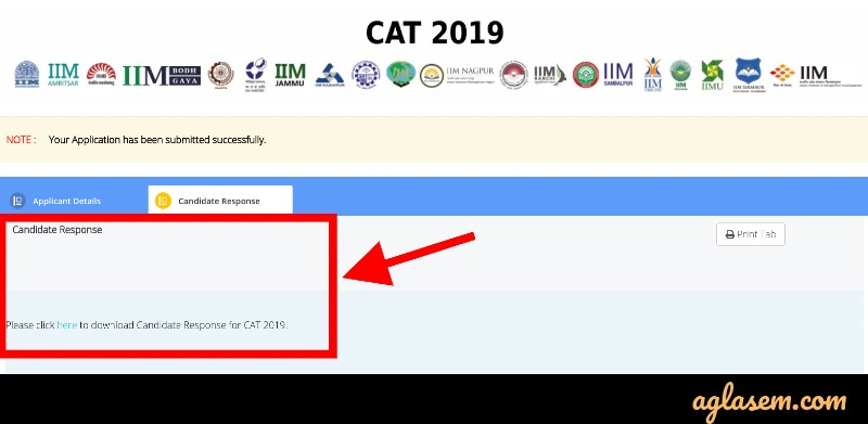 CAT 2020 official key