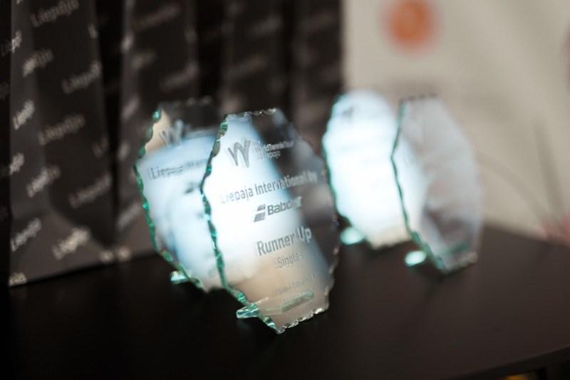 ITF Liepaja International by Babolat Award ceremony/Apbalvošana (Foto: M.Vējš)