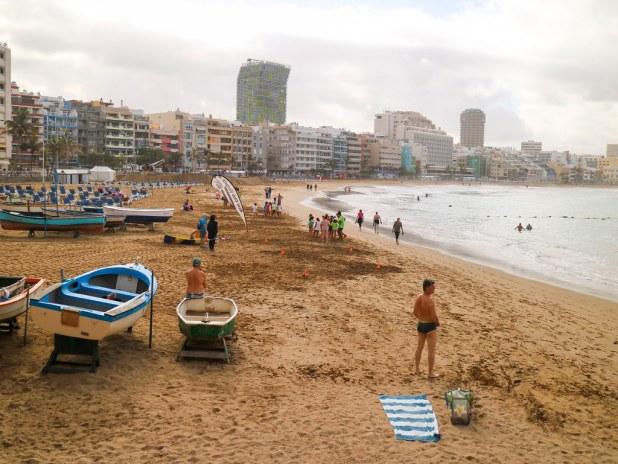 Playa de Las Canteras en Gran Canaria en 1 día