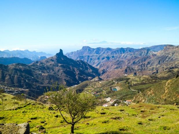 Vista desde el Mirador Degollada de Becerra