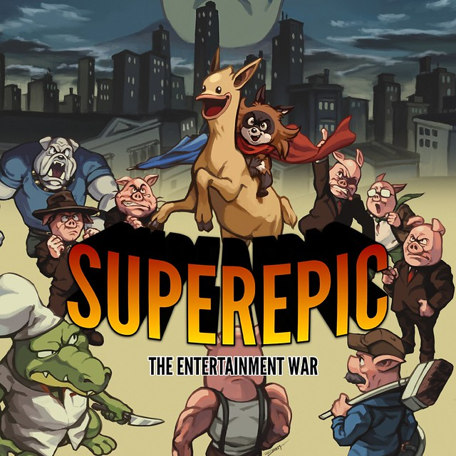 Superepic: The Entertainment War