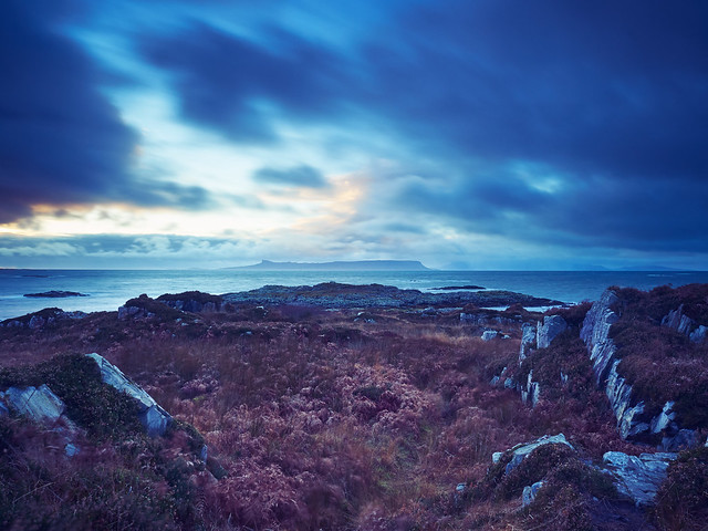 Isle of Rum from Arisaig