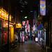 Tokyo night alley