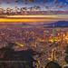 Aerial view of Taipei cityscape 微光台北 空拍