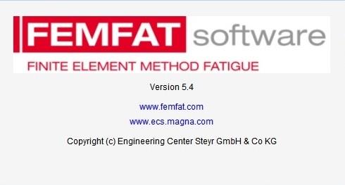 ECS FEMFAT 5.4 x64 full cracked
