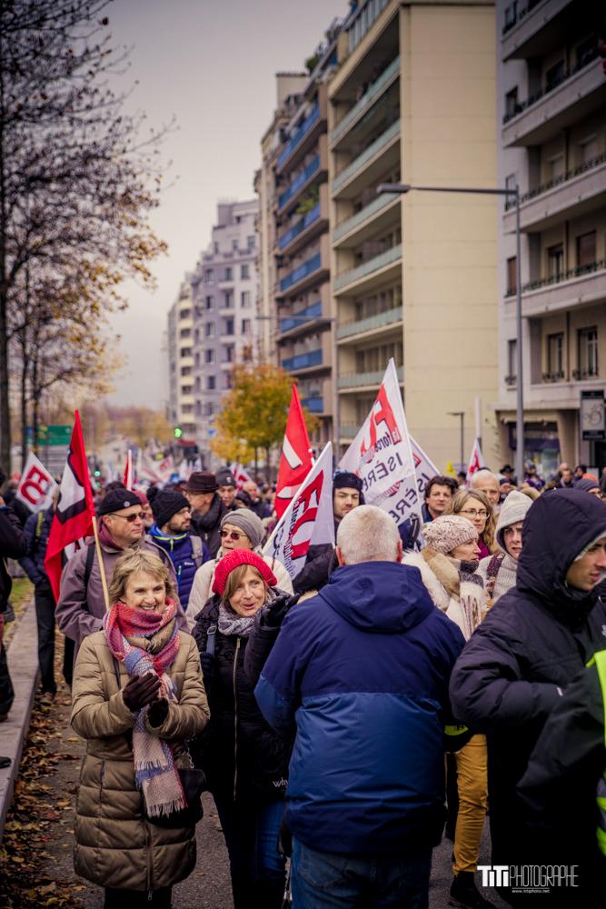 Manifestation du 5 décembre-Grenoble-2019-Sylvain SABARD
